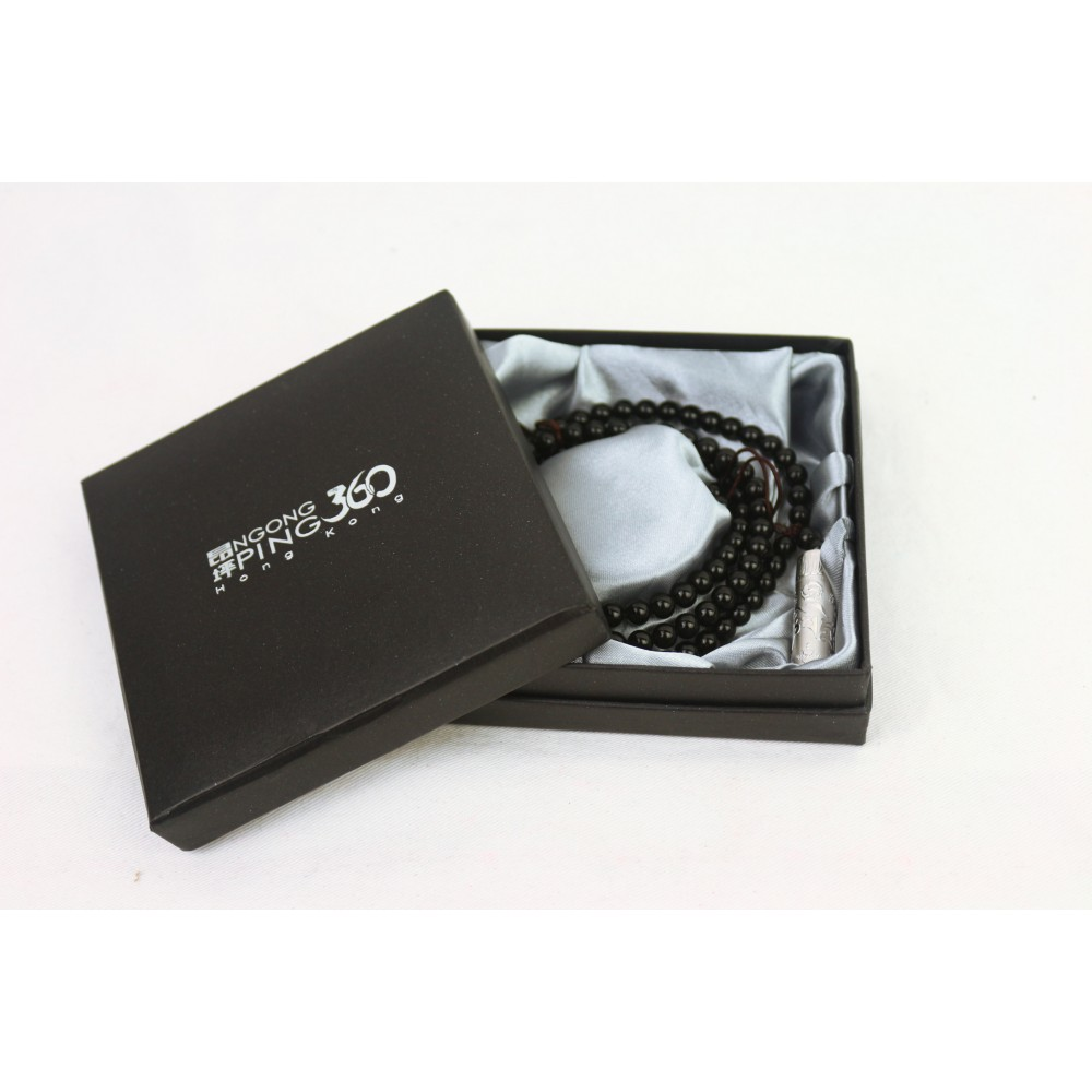 SV0004A1-J-YP 藏經筒觀音吊咀108瑪瑙項鍊